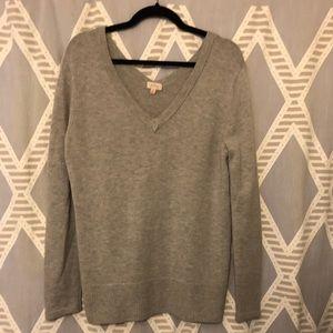Pixley Deep V Wool Blend Sweater